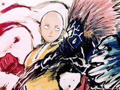 One Punch Man - Saitama VS Boros