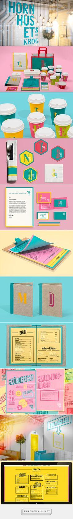 Hornhuset Branding on Behance | Fivestar Branding – Design and Branding Agency & Inspiration Gallery