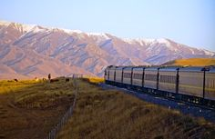 Golden Eagle Trans-Siberian Express from the Luxury Train Club: Members get discount and more, free to join by subscribing to our newsletter Train Route, By Train, Road Train, Trans Siberian Railway, Road Routes, Asia, Train Journey, Silk Road, Train Rides