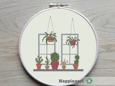 Cross stitch pattern cactus. The new it plant is the cactus, stitch it and pimp your interior!  Buy 4 patterns and get 25% discount! Place 4 patterns in your cart and enter the code HAPPINESST3and1free at checkout and you get 25% discount.  The pattern comes as a PDF file that youll will be able to download immediately after purchase. In addition the PDF files are available in you Etsy account, under My Account and then Purchase after payment has been cleared. You get a pattern in…