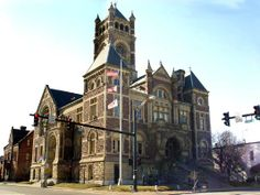 Perry County Ohio courthouse. This was a prosperous area at the time the courthouse was built.