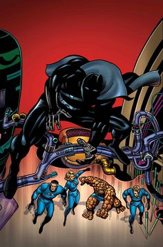 Black Panther #16 After Jack Kirby