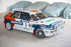 Used 1993 Lancia Delta Integrale Evoluzione Group A 'Jolly Club' Replica for sale in Northamptonshire from Silverstone Auctions. Lancia Delta, Rally Car, Automobile, Sport Cars, Fiat, Cars And Motorcycles, Cars For Sale, Racing, Club