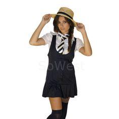 BUY :) All sizes #FancyDress 5 piece Outfit School Girl For St Trinians Nights - £15.99 > http://owl.li/Zj6R9