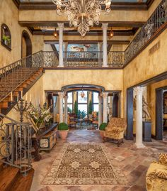 This Mediterranean/European inspired waterfront mansion is located at 125 18th Street inBelleair Beach, FL. Built in 2009, the striking home features 2 gated entrances and sits on close to an acre o