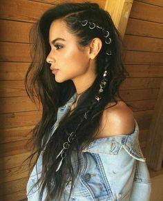Hairstyles that men find irresistible – love hair – Hair Style Braided Hairstyles, Cool Hairstyles, Pirate Hairstyles, Summer Hairstyles, Bohemian Hairstyles, Evening Hairstyles, Layered Hairstyles, Rocker Hairstyles, Festival Hairstyles