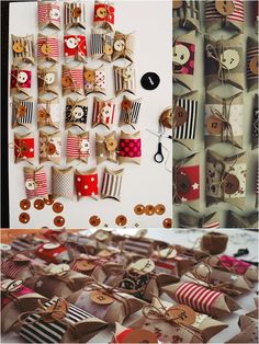 DIY Homemade Toilet Paper Roll Advent Calendar, Creative Christmas Craft, Clever Upcycling, Adorable Idea.