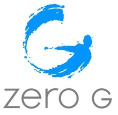 Zero G anti-gravity logo design