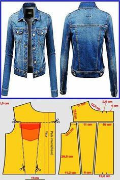 Best 12 Cindy Jeans Jacket // Sizes 18 & 20 // Women's Jacket PDF sewing pattern by Style Arc // DIY clothing // Sewing Projects Diy Clothing, Clothing Patterns, Coat Patterns, Aya Couture, Demin Jacket, Make Your Own Clothes, Patterned Jeans, Denim Crafts, Girl Dress Patterns