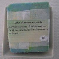 Jabón de manzana canela