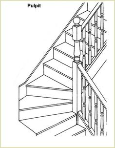 Pulpit Stairs Explained