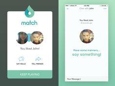 matching app by Designoholic