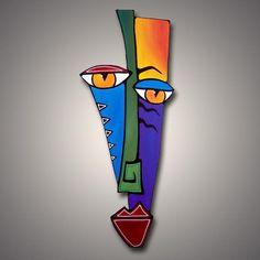, Kunst: Kontrollieren Sie den Fluss - vom Künstler Thomas C. , Kunst: Kontrollieren Sie den Fluss - vom Künstler Thomas C. Kunst Picasso, Art Picasso, Portfolio D'art, Arte Elemental, Tableau Pop Art, Art Visage, Cubist Art, Abstract Face Art, Art Sculpture