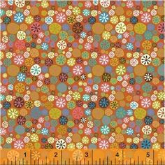 Jan Avellana - A Nod to Mod - Happy Buttons in Coral