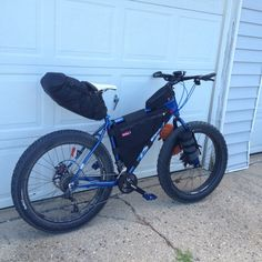 Fat bike bikepacking #fatbike #bicycle #fat-bike