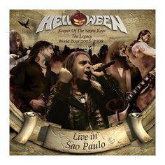 """L'album degli #Helloween intitolato """"Keeper Of The Seven Keys - The Legacy World Tour """" su doppio CD."""