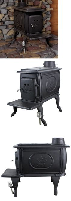 Heating Stoves 84184: Small Wood Stove Burning Fireplace Heater Cast Iron 900 Square Feet Log Cabin -> BUY IT NOW ONLY: $398.95 on eBay!