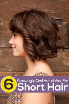Short hairstyles are flattering to any face shape when they are styled appropriately. Here are amazing cool hairstyles for short hair you get to kno