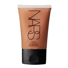 NARS Laguna Illuminator.  Mix in a few drops with foundation and you're glowing.