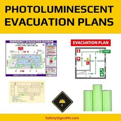Deliver a safe and clear egress route to building occupants with our customized photoluminescent evacuation p. Evacuation Plan, Philippines, Maps, Diagram, How To Plan, Map, Cards
