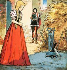 The Story of Rumpelstiltskin by Jesus Blasco Rumpelstiltskin, Fairy Tales, Painting, Art, Art Background, Painting Art, Kunst, Fairytail, Paintings