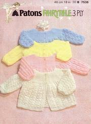 Patons 7536 Matinee coats