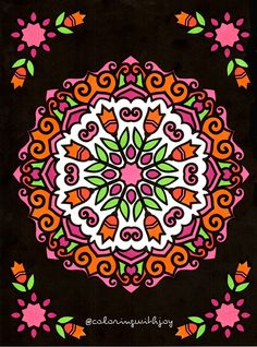 Coloring Book By Papeterie Bleu Name Is Mandalas At Midnight Available On Amazon