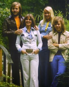 ABBA- grew up loving these guys.  Not shamed to say I still do!