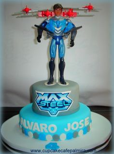 Max Steel Cake