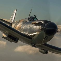 All things aviation with an emphasis on military aircraft. Ww2 Aircraft, Fighter Aircraft, Military Aircraft, Fighter Jets, The Spitfires, Airplane Fighter, Old Planes, Supermarine Spitfire, Jet Plane