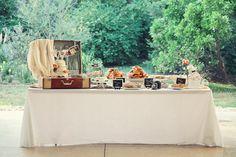 Vintage dessert bar! bethaubreyphotography.com