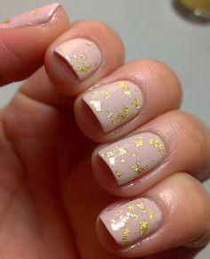 Polish Amor ♥: Gold Leaf Topcoat ♥