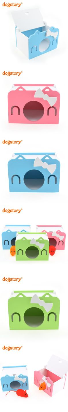 Pet Products Home & Garden Hamster Nest House Wooden Self Assembly Hamster Toy Roller Nest Ecological Board House Swing Toy Small Pet Tunnel