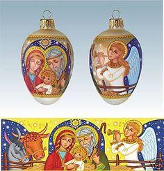 Egg-Glass-Xmas-Ornament-Holy-Family-Goose-Sized