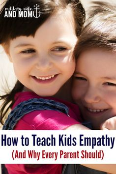 Teach empathy to kids   Positive parenting   Teach kids to listen   Raise kind kids via @lauren9098