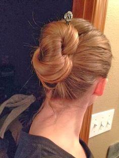 Get crafty: Hair sticks & easy hairdo!