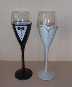 σετ ποτηρια γαμου Flute, Champagne, Glasses, Tableware, Eyewear, Eyeglasses, Dinnerware, Tablewares, Flutes