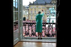 Karettur fra Amalienborg til Rådhuset - Kongehuset