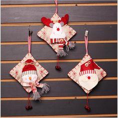 La Moda de Navidad Muñeco de nieve de Navidad de Santa Claus de Navidad Decoración Para El Hogar de decorations for home