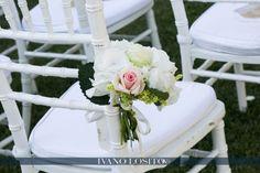 Cheremony chair decor by Michela & Michela www.italianweddingcompany.com