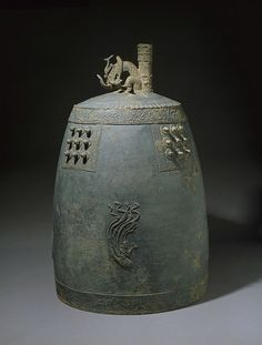 Buddhist Temple Bell 11th century bronze H: 41 3/8 in. x Diam.: 26 3/4 in. Ho-Am Art Museum