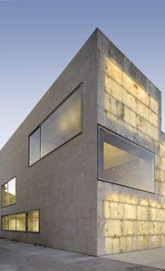 Regional Center for the Advancement of alabaster, Teruel, Spain, by stomach Arquitectos