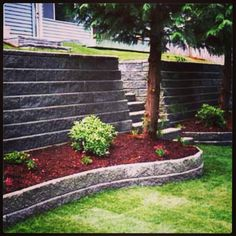 Enhance your property with beautiful retaining walls. Call Ralph at 618.251.0041 today!