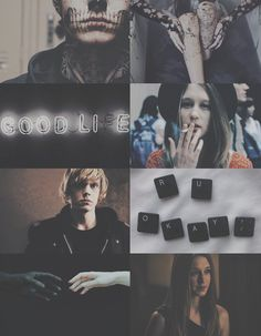 Tate Langdon + Violet Harmon Aesthetic Board (2) ✘Edit is mine:A E S T H E T E