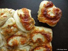 Cheesy pinwheel rolls