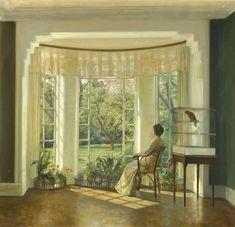 Carl Vilhelm Holsøe (Danish, March 12, 1863 - November 7, 1935) - Reflections