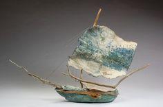handmade sailing vessel by raphaela mccormack