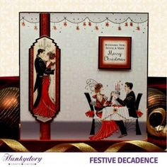 Festive Decadence | Hunkydory Crafts