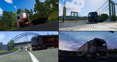 Euro Truck Simulator 2 Yeni Yükleme Ekranı v0.4 |