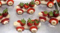 11 super originelle Leckerbissen für Kinder…Süßigkeiten mit Obst!